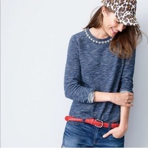 J Crew Marled Sweater size M